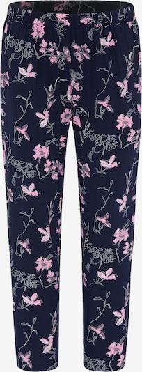 BROADWAY NYC FASHION Spodnie 'PALOMA' w kolorze ciemny niebieski / różowy pudrowy / białym, Podgląd produktu