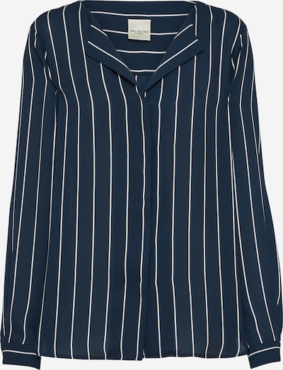 SELECTED FEMME Shirt 'SFDYNELLA STRIPE' in blau / weiß, Produktansicht