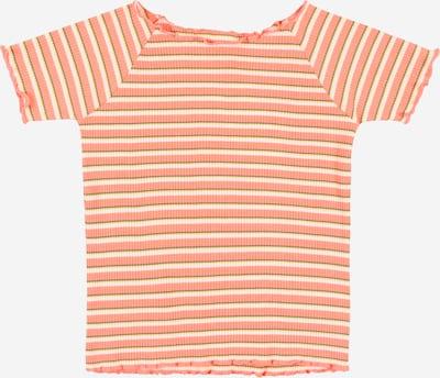 STACCATO Shirt in gelb / graumeliert / koralle / weiß, Produktansicht