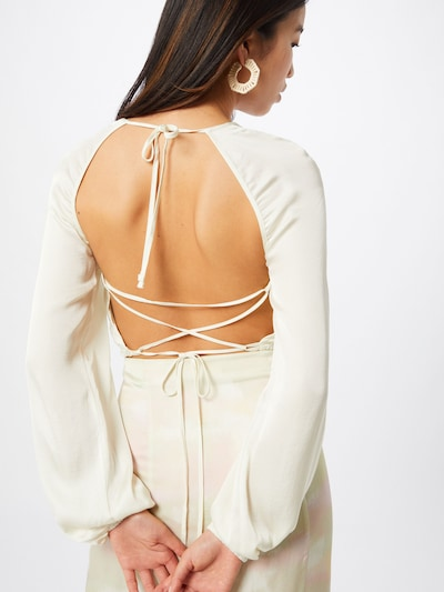 LeGer by Lena Gercke Bluse 'Cara' in creme: Frontalansicht
