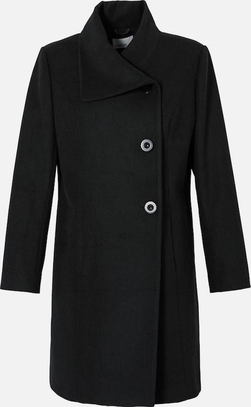 Sheego style Kurzmantel mit Knopfleiste in schwarz  Neue Kleidung in dieser Saison
