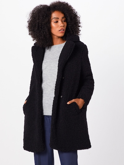 Noisy may Winter coat 'Gabi' in black, View model
