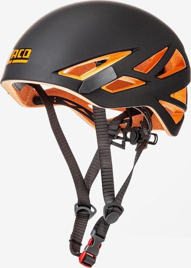 LACD Kletterhelm 'Defender RX' in orange / schwarz, Produktansicht
