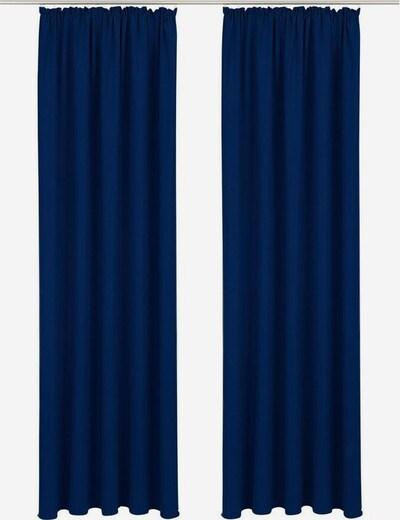 BRUNO BANANI Vorhang 'Lagan' in dunkelblau, Produktansicht