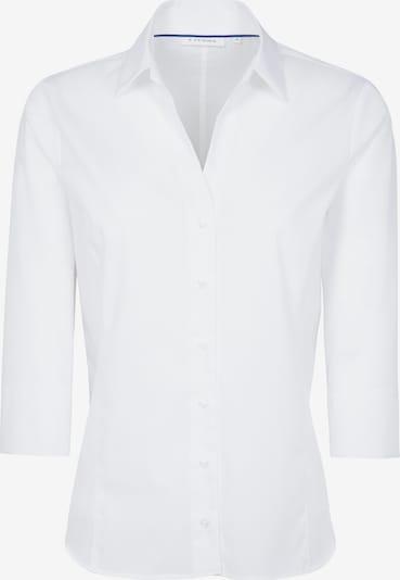 ETERNA Dreiviertelarm Bluse 'MODERN CLASSIC' in weiß: Frontalansicht