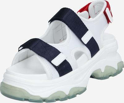 Tommy Jeans Trekingové sandály 'CHUNKY' - námořnická modř / červená / bílá, Produkt