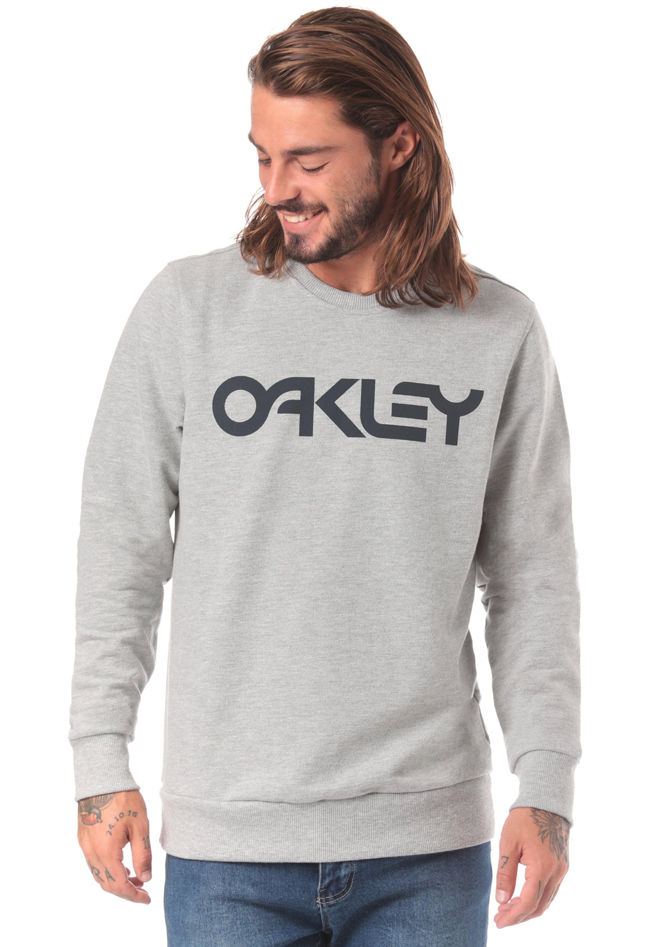 Sweatshirt Crew Oakley B1b Hellgrau In zUSpMqV