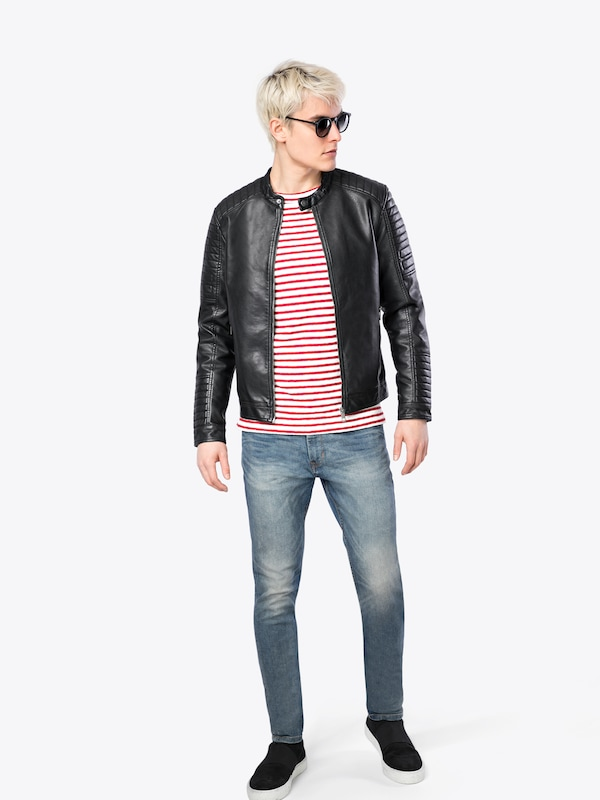 JACK & JONES Jacke 'JCOSERGIO PU JACKET'