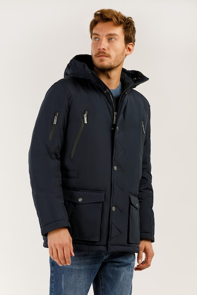 Finn Flare Jacke in nachtblau, Produktansicht
