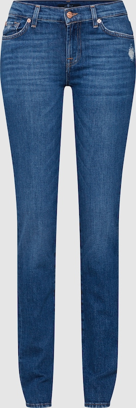 7 for all mankind Jeans ' ROXANNE' in Blau denim  Neuer Aktionsrabatt