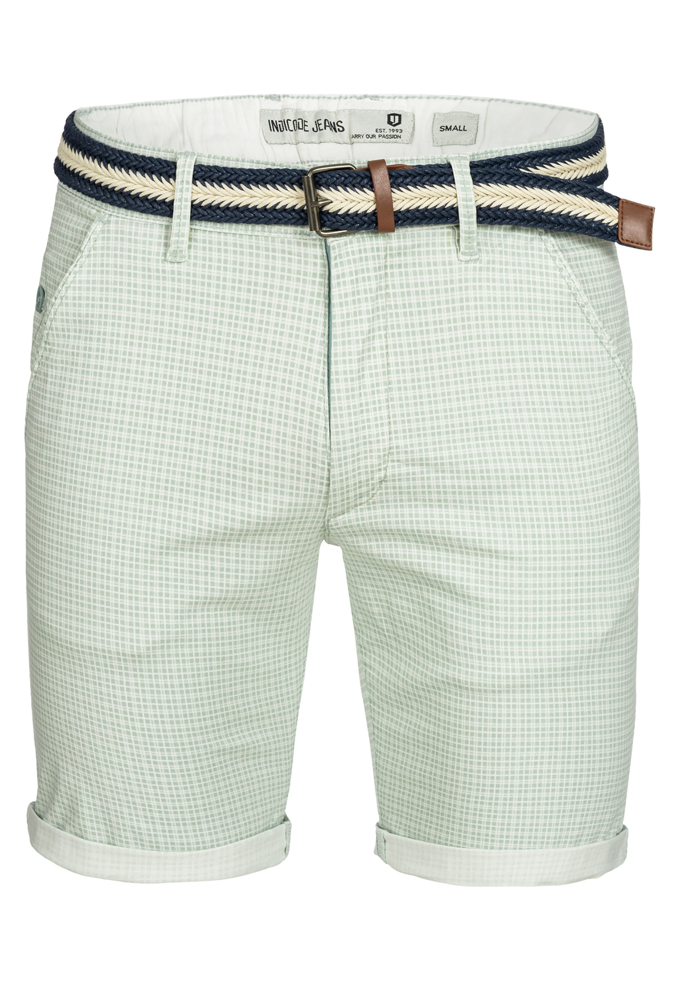 Shorts PastellgrünNaturweiß 'bourchier' Jeans In Indicode TlcuJ3FK1