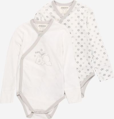 JACKY Бебешки гащеризони/боди в кремаво / светлосиво / бяло, Преглед на продукта