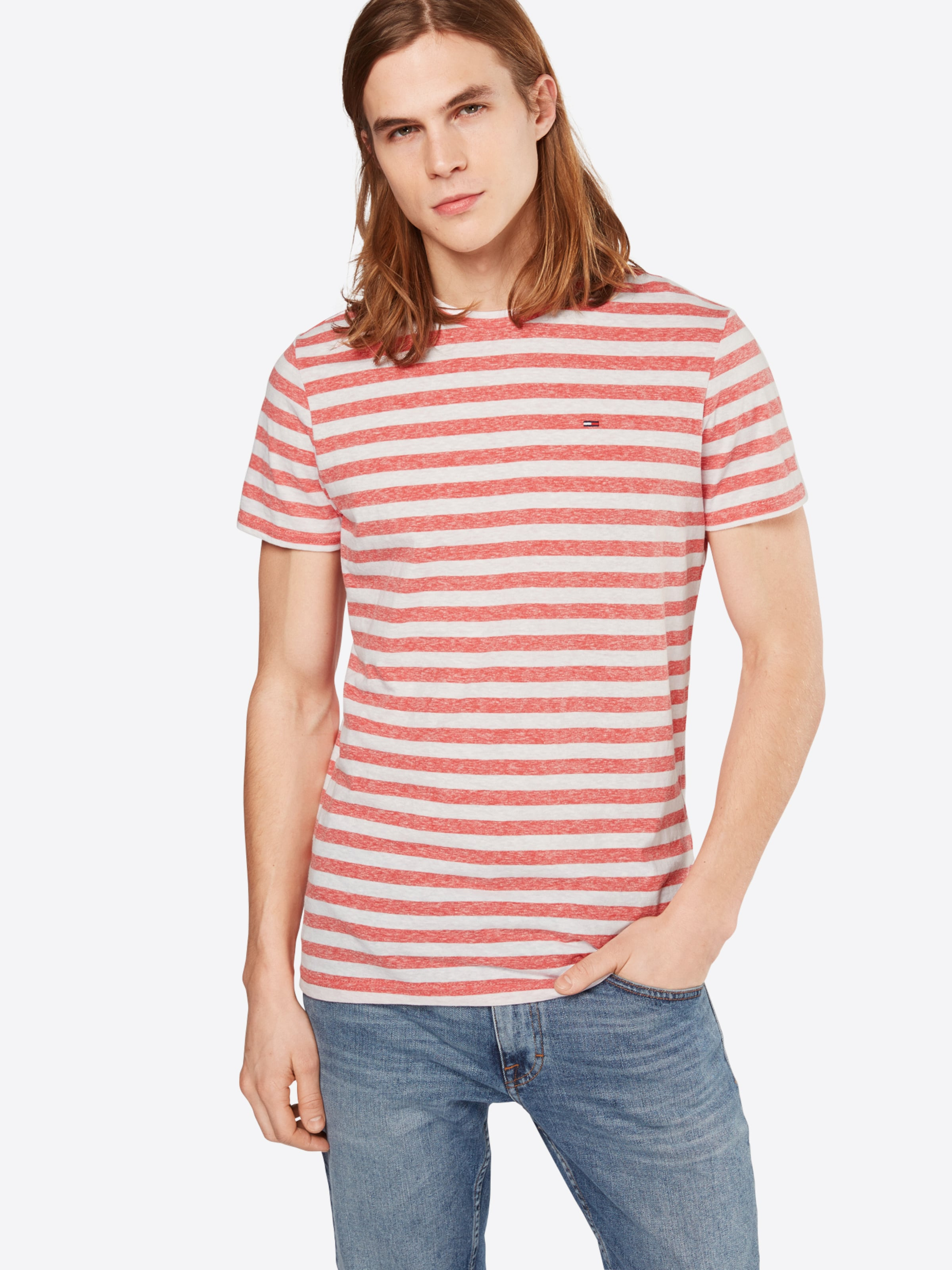 Tommy Jeans T-Shirt 'TJM ESSENTIAL STRIPE' Billig Verkauf 2018 Verkauf Breite Palette Von Outlet Kaufen hVJm84