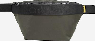 Calvin Klein Sacs banane 'NASTRO' en olive, Vue avec produit