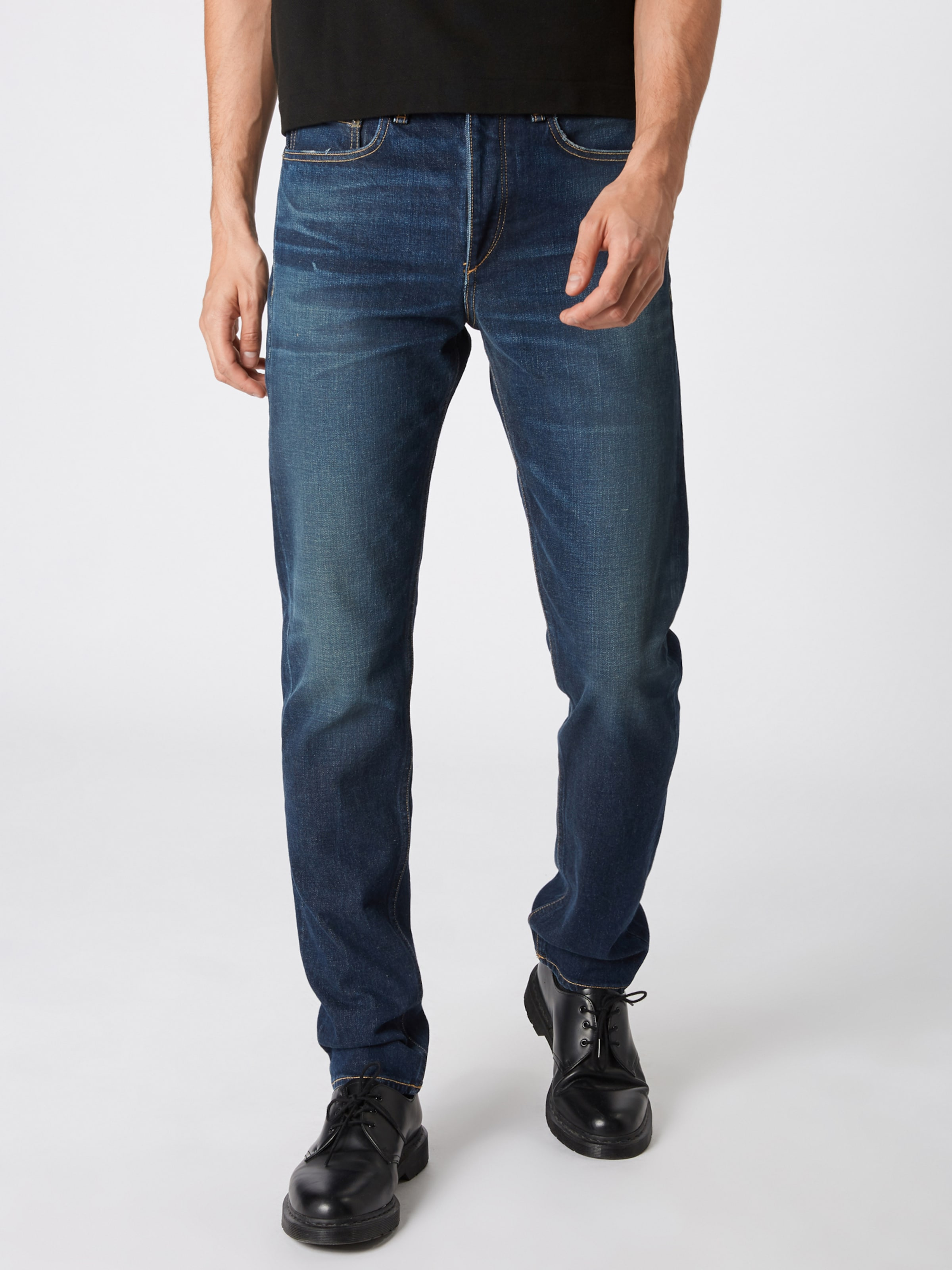 In Blue Denim 2' Ragamp; Bone Fit Jeans 'rgb Yf76yvbg