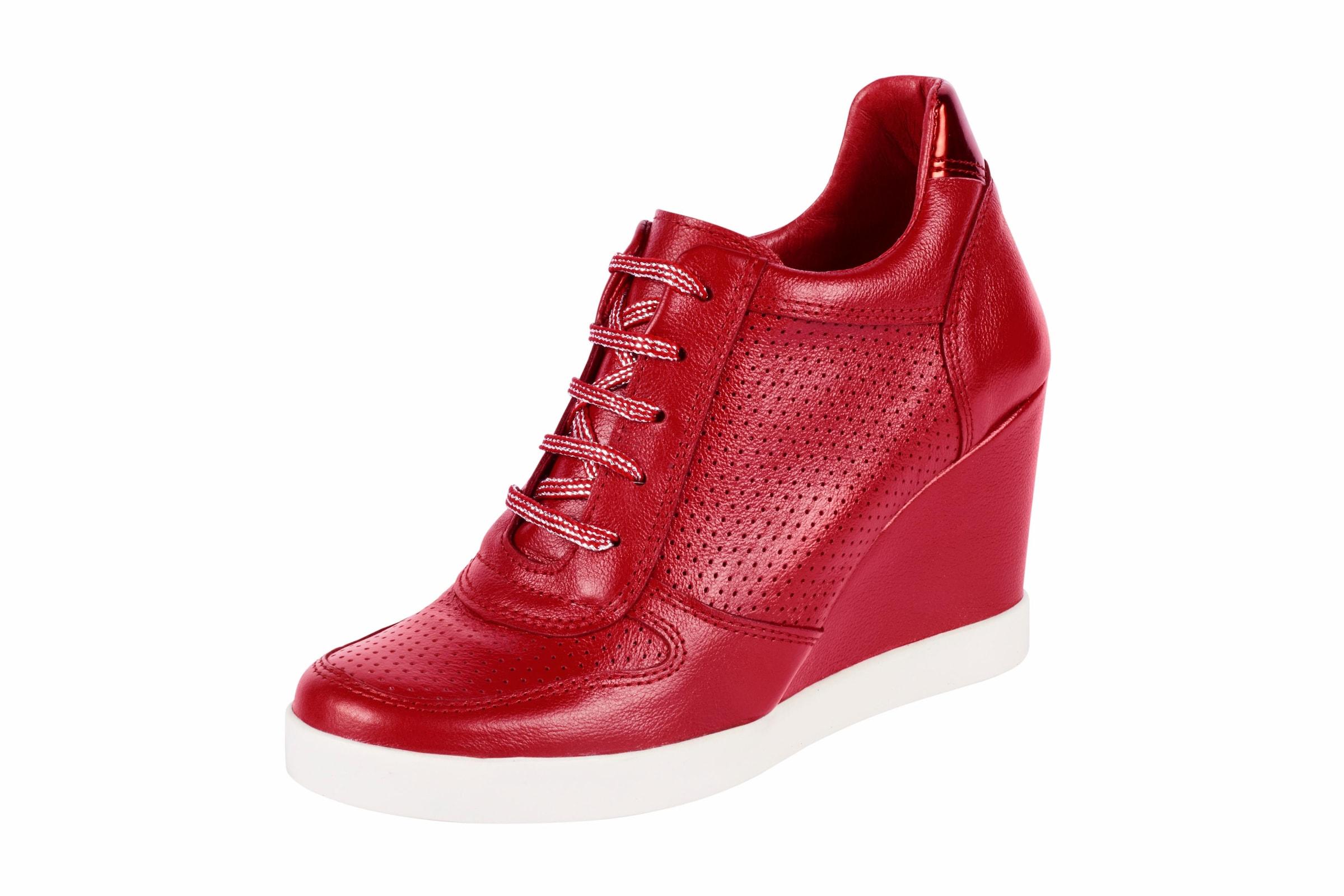 heine Keilsneaker mit Perforation Verschleißfeste billige Schuhe