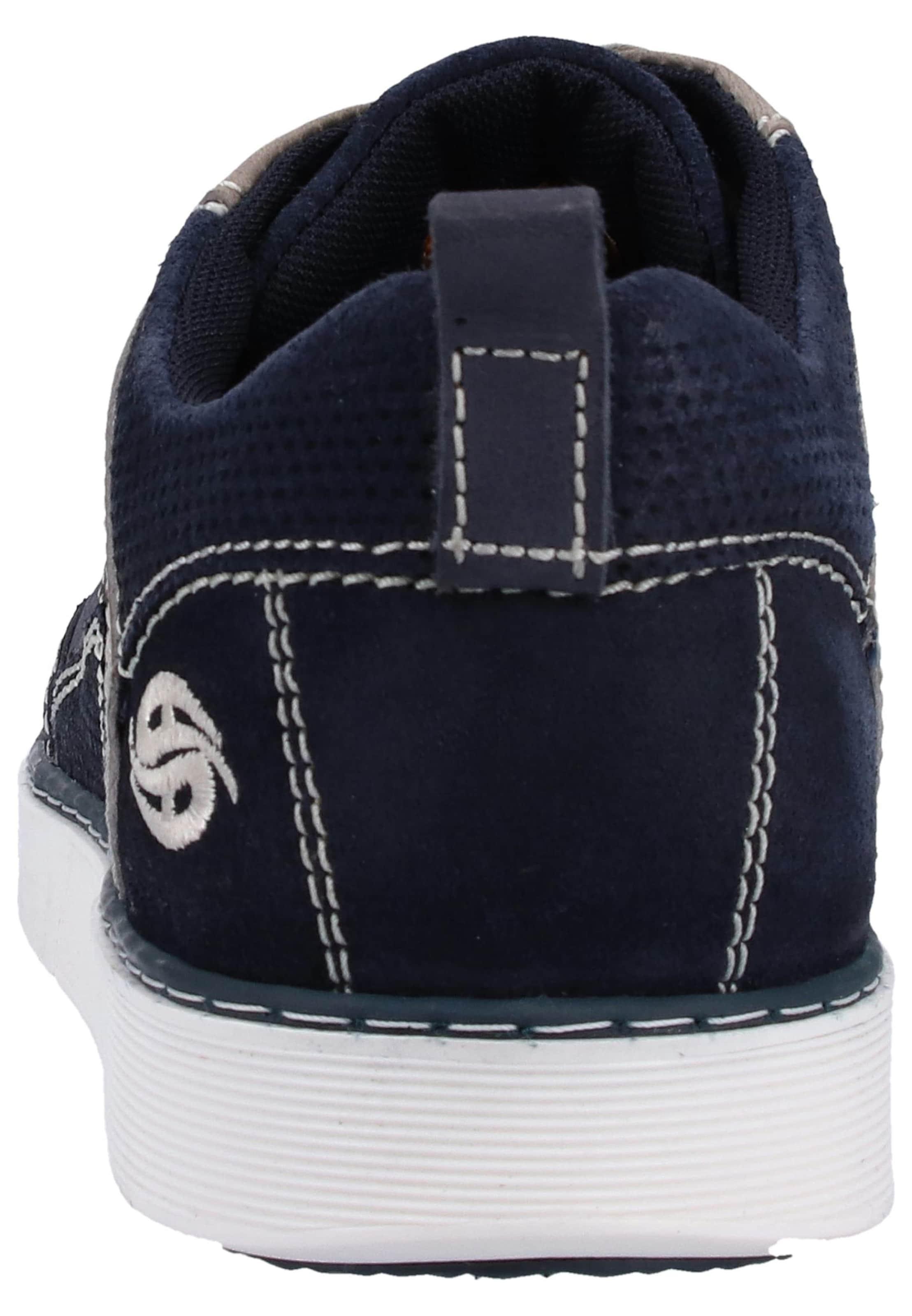 Gerli By DunkelbeigeNavy Sneaker Kastanienbraun In Dockers yOmvN0n8w