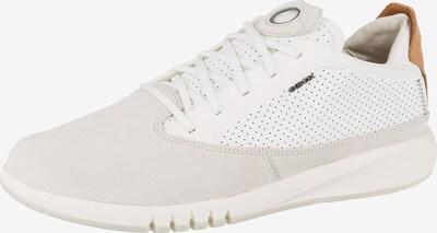 GEOX Niske tenisice 'U Aerantis' u smeđa / siva / bijela, Pregled proizvoda