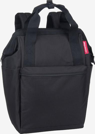 REISENTHEL Rucksack / Daypack ' allrounder R iso ' in schwarz: Frontalansicht