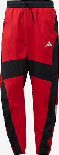 Pantaloni sport 'O Shape' ADIDAS PERFORMANCE pe roșu / negru / alb, Vizualizare produs