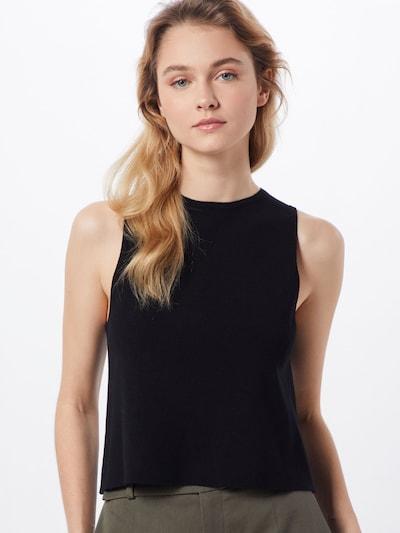 DRYKORN Top 'VALLIE' in schwarz, Modelansicht