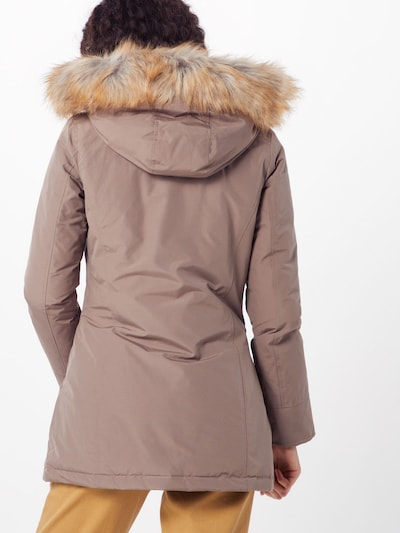 Canadian Classics Winterparka 'Fundy Bay' in creme: Rückansicht