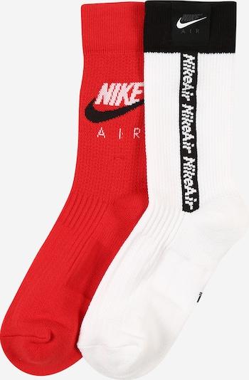 piros / fekete / fehér Nike Sportswear Zokni, Termék nézet