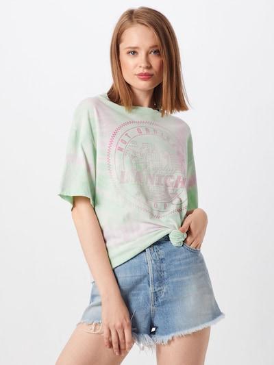 REPLAY Shirt in mint / rosa, Modelansicht