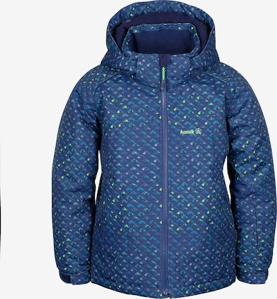 Kamik Skijacke 'Benji Non Stop' in blau / mischfarben, Produktansicht