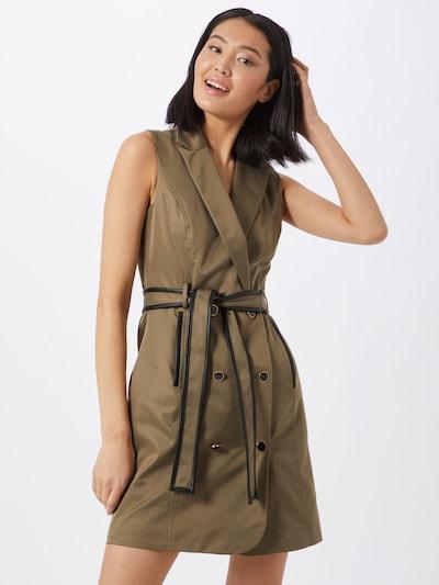 Morgan Kleid in braun, Modelansicht