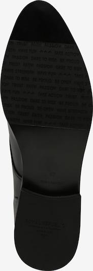 ROYAL REPUBLIQ Chaussons 'Prime Derby No Lace' en noir: Vue de dessous
