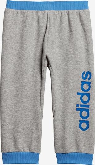 ADIDAS PERFORMANCE Jogginghose 'I LIN' in blau / graumeliert, Produktansicht