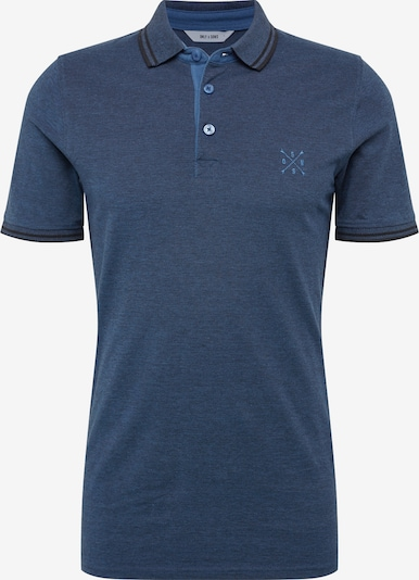 Only & Sons Shirt 'onsSTAN SS FITTED POLO TEE NOOS' in de kleur Donkerblauw, Productweergave