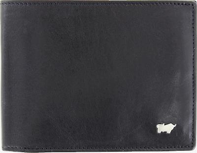 Braun Büffel Portemonnee in de kleur Zwart: Vooraanzicht