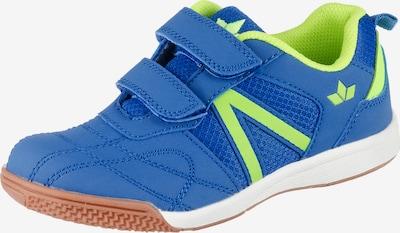 LICO Sportschuhe 'First Indoor V' in blau / kiwi, Produktansicht