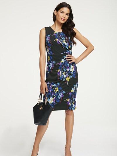 heine Jerseykleid in blau / schwarz, Modelansicht