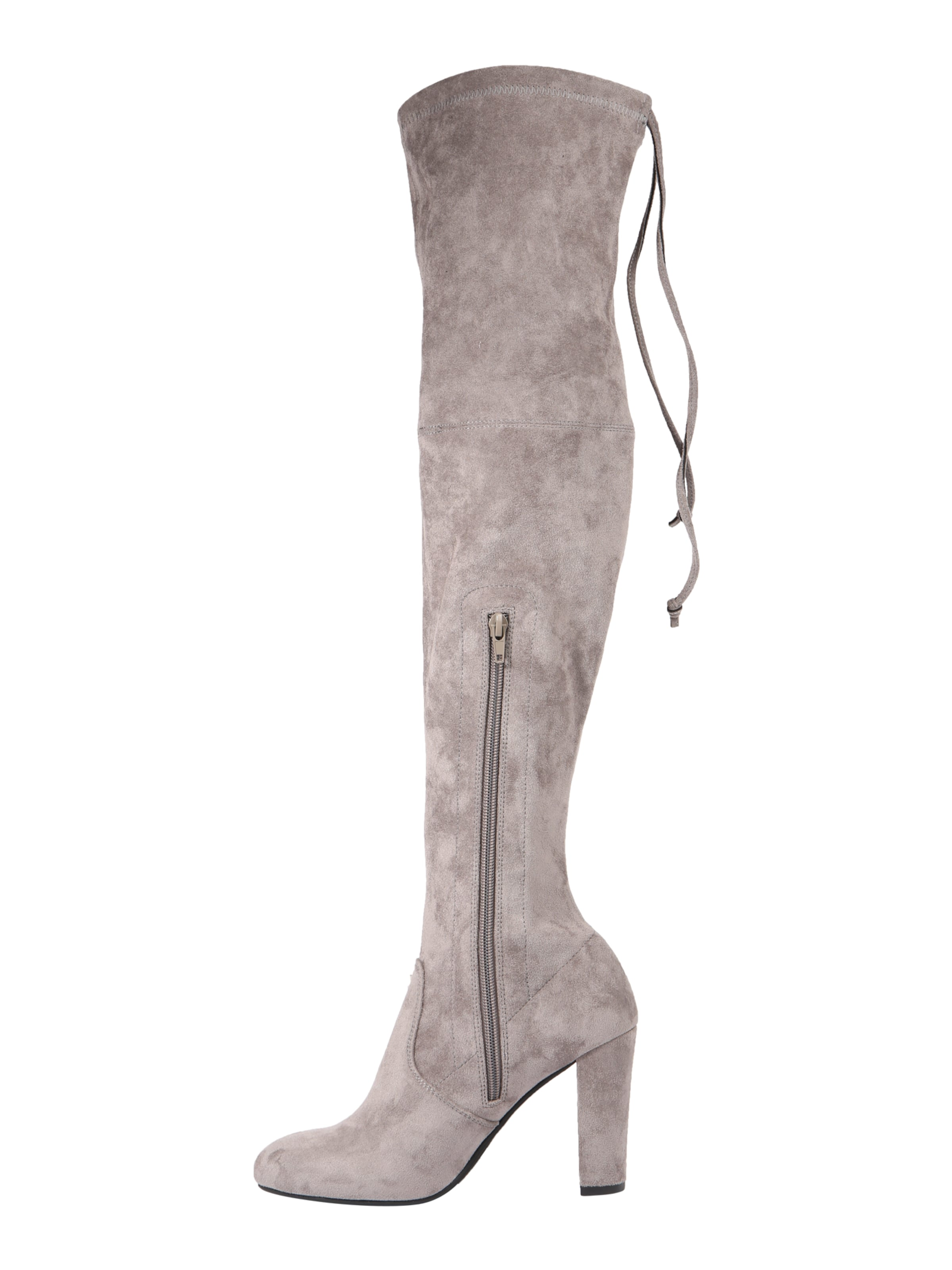 About You About In In Stiefel Grau Grau Stiefel You R54Ac3jLq