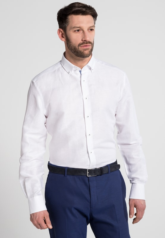 Eterna Long Sleeve Shirt Modern Fit