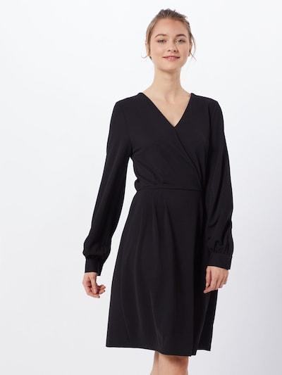 ONLY Jurk 'onlmonna l/s DRESS JRS' in de kleur Zwart: Vooraanzicht