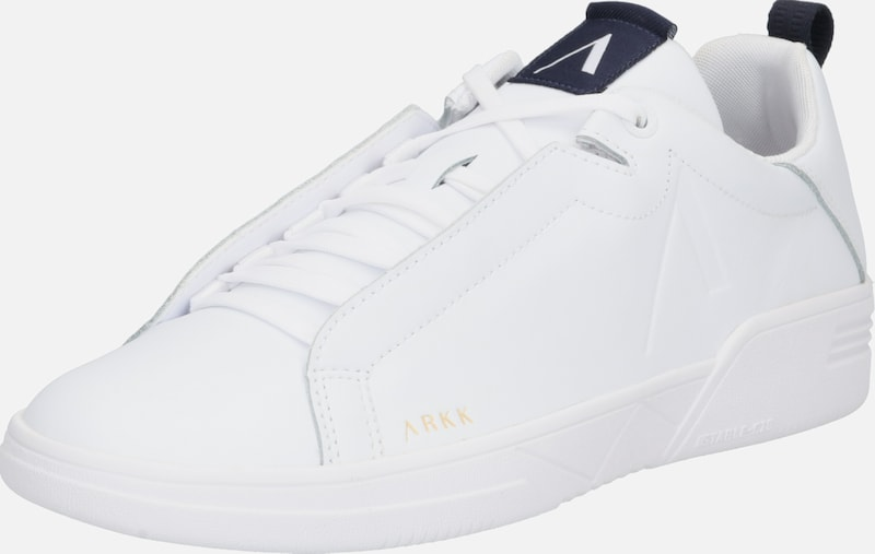 ARKK Copenhagen Sneakers laag 'Uniklass Leather S-C18' in de kleur Wit, Productweergave