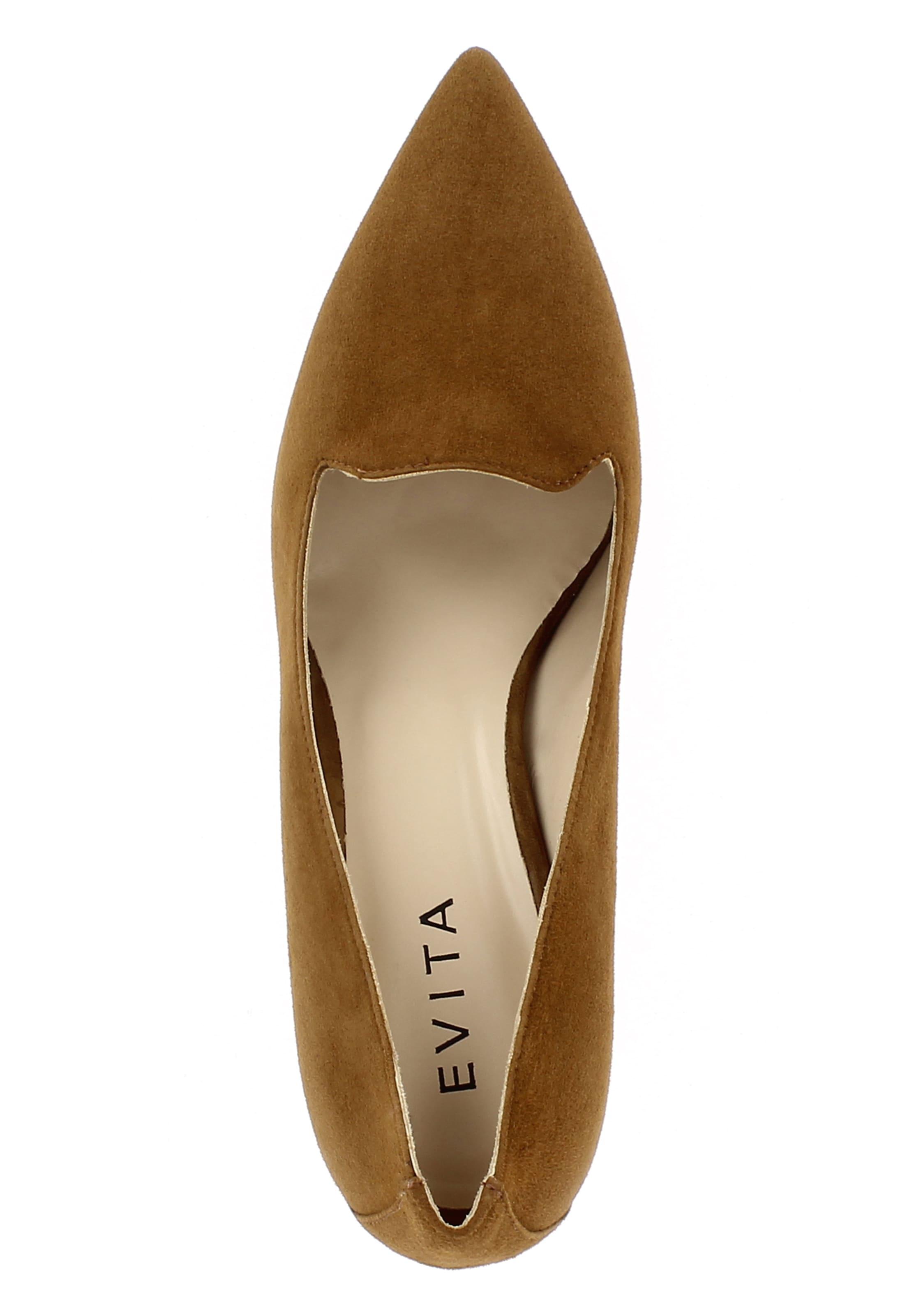 EVITA Pumps 'ROMINA Leder Bequem, gut aussehend aussehend aussehend 474c2b