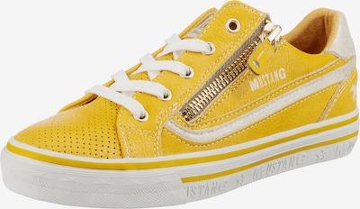 MUSTANG Sneakers in gelb, Produktansicht