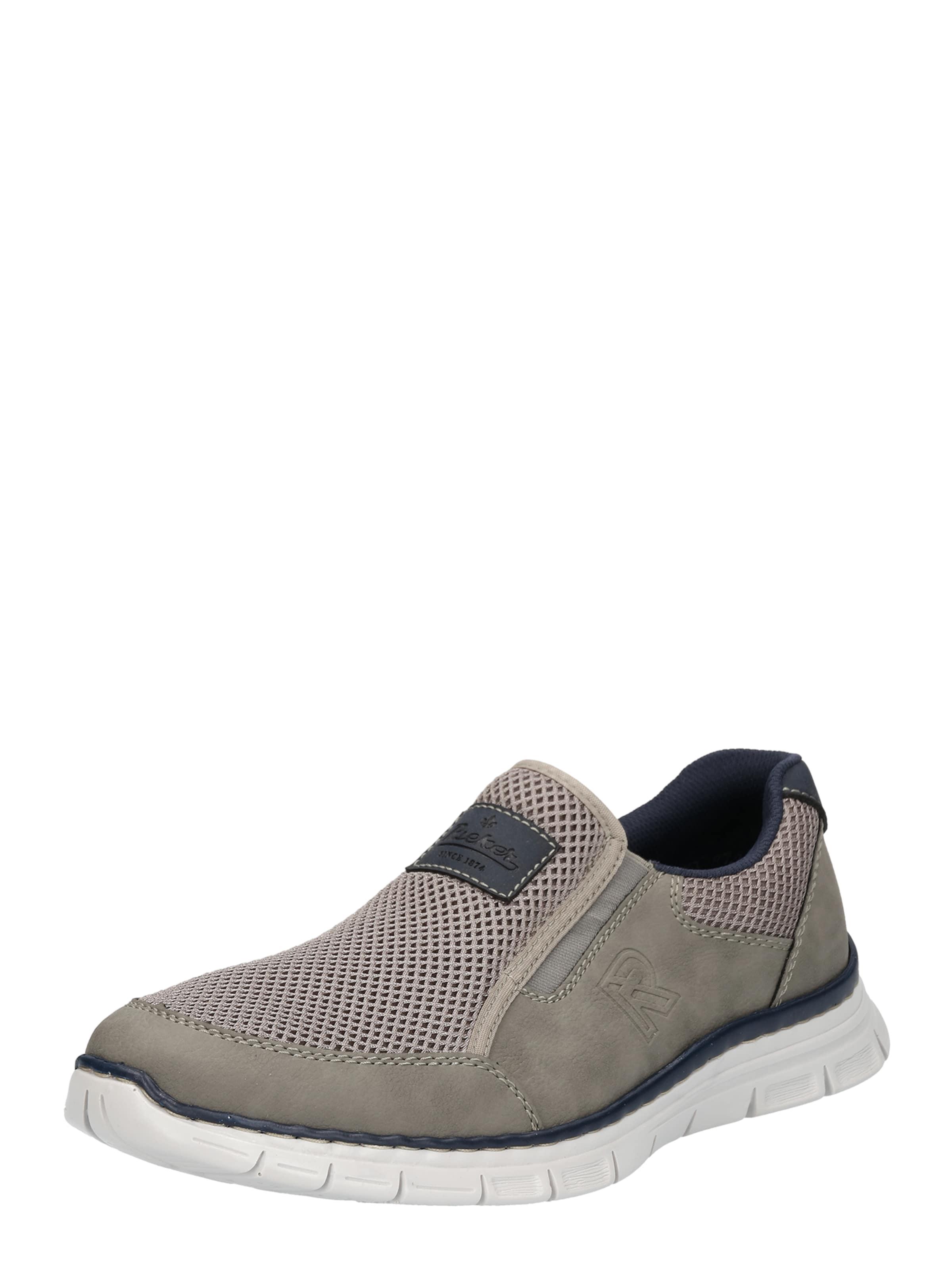 RIEKER Slip-On Sneaker Verschleißfeste billige Schuhe