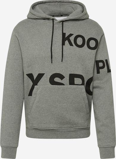 THE KOOPLES SPORT Sweatshirt in grau / schwarz, Produktansicht