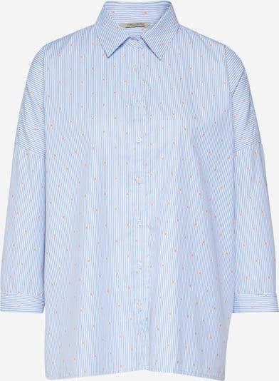 Herrlicher Bluse 'Marini' in blau / weiß, Produktansicht