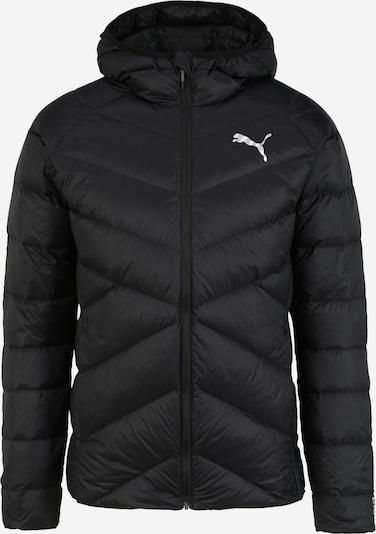 PUMA Zimná bunda - čierna: Pohľad spredu