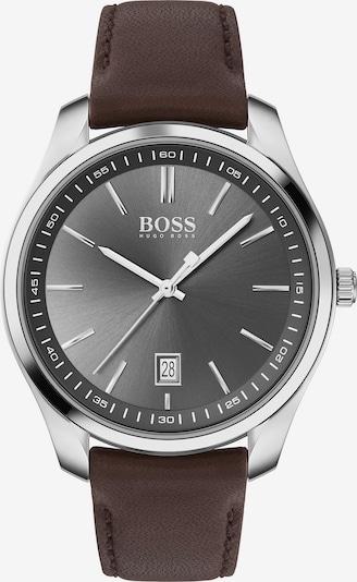 BOSS Uhr 'Circuit' in kastanienbraun / schwarz / silber, Produktansicht