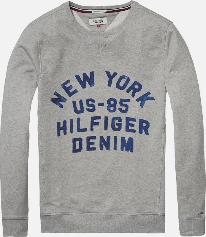 """Tommy Jeans Sweatshirt """"THDM BASIC RIB CN HKNIT L/S 11"""""""