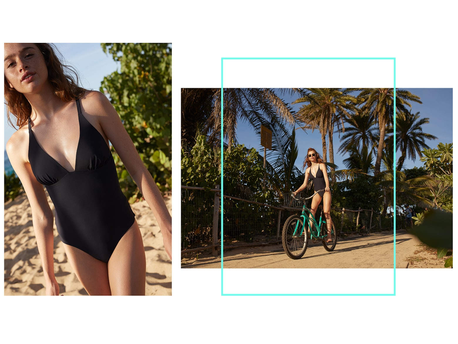 Chloe A. - Black Swimwear Look