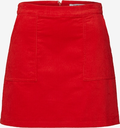 GLAMOROUS Rock 'Skirt' in rot, Produktansicht